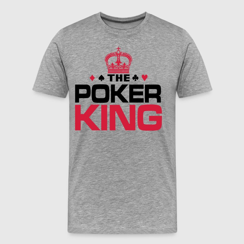 Poker King T-Shirts - Men's Premium T-Shirt