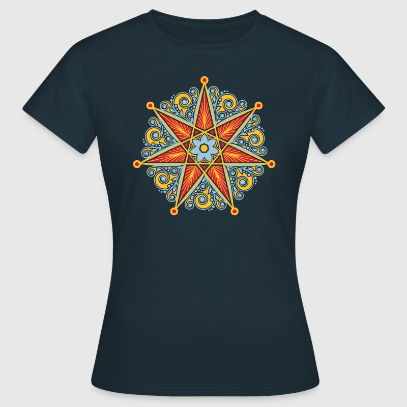 Elfenstern, Heptagramm, Elfe, Fee, Stern,  T-Shirts - Frauen T-Shirt