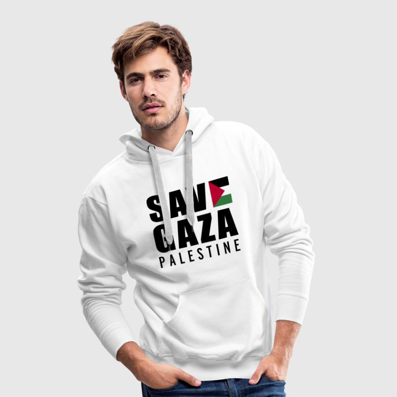 Save Gaza - Palestine  Hoodies & Sweatshirts - Men's Premium Hoodie