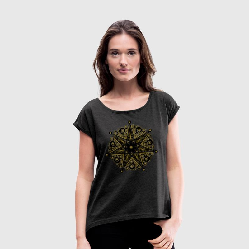 Fairy Star, Magical Power, Perfection & Protection Tee shirts - T-shirt à manches retroussées Femme