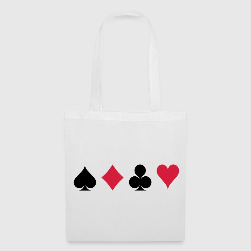 Card Game - Playind Card Borse & zaini - Borsa di stoffa