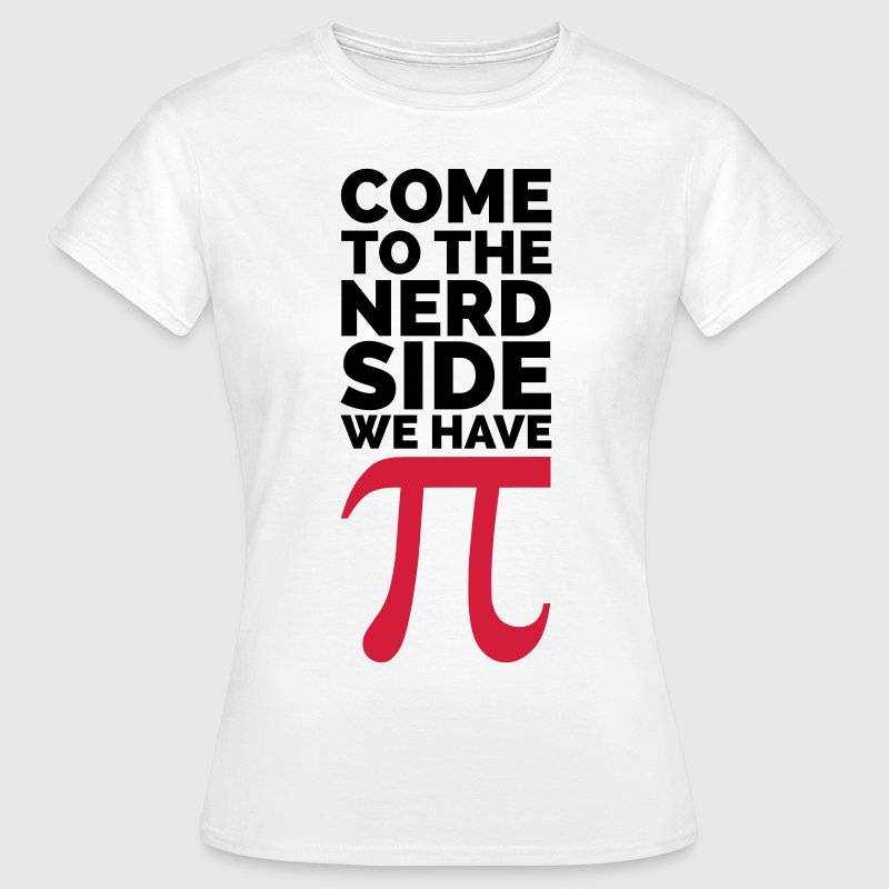 The Nerd Side - Pi T-shirts - T-shirt dam