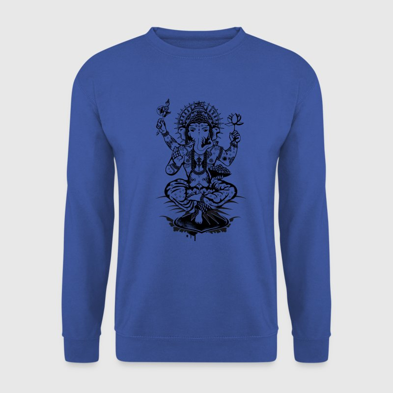 Ganesha- un dieu à tête d'éléphant  Sweat-shirts - Sweat-shirt Homme