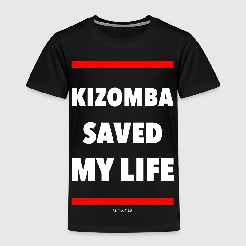 Kizomba Saved My Life Shirts - Kids' Premium T-Shirt