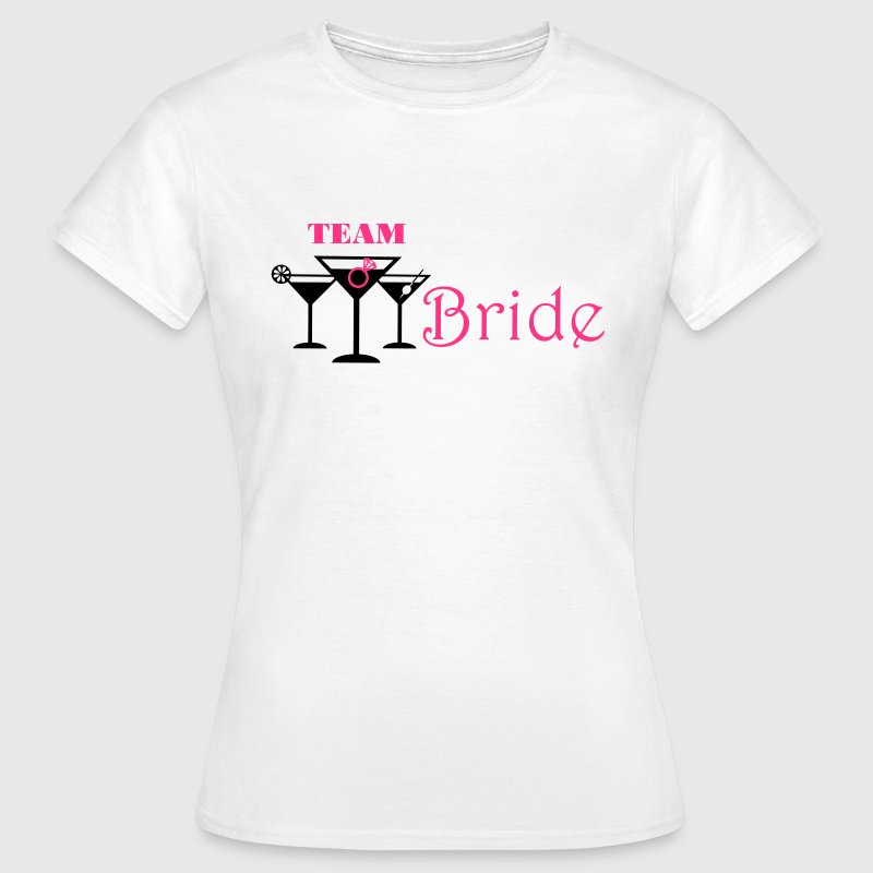 team bride cocktails T-Shirts - Women's T-Shirt