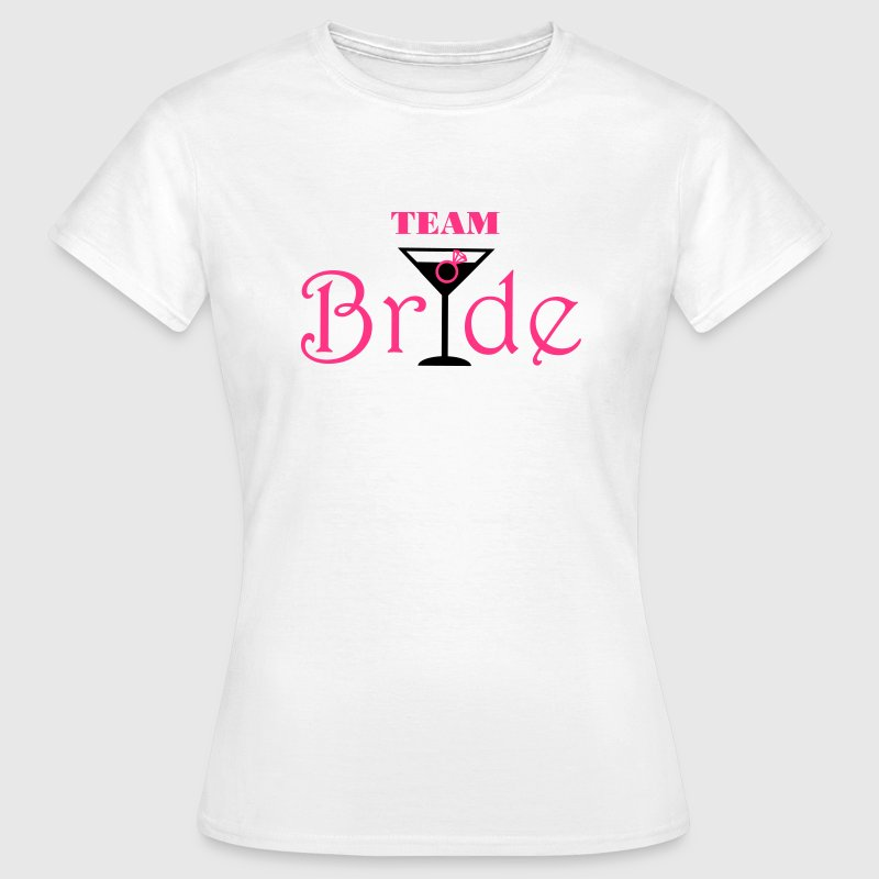 Team Bride Cocktail Camisetas - Camiseta mujer