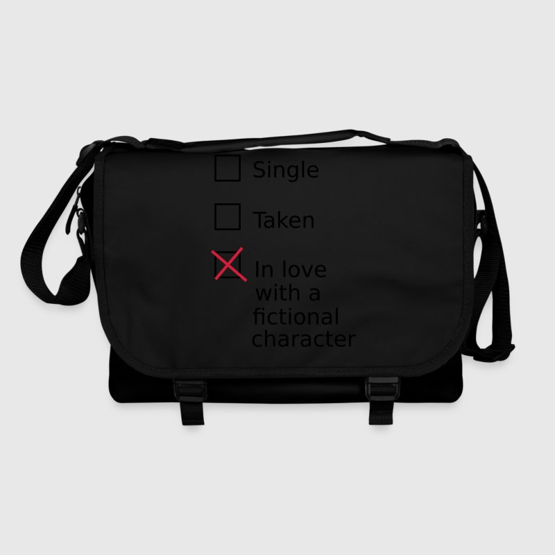 Single Taken In love with a fictional character Bags & Backpacks - Shoulder Bag