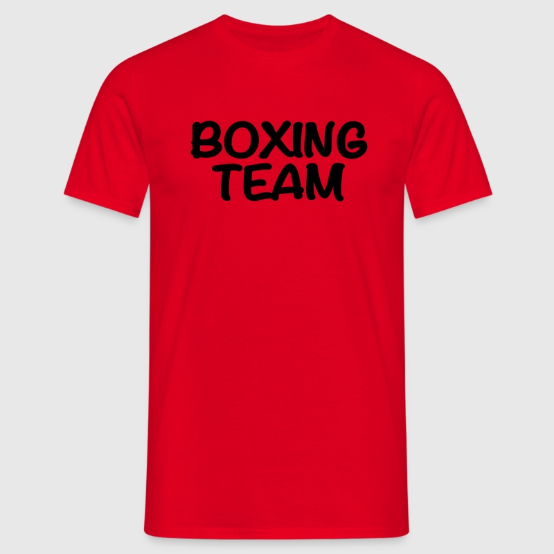 Boxing Team T-Shirts - Men's T-Shirt