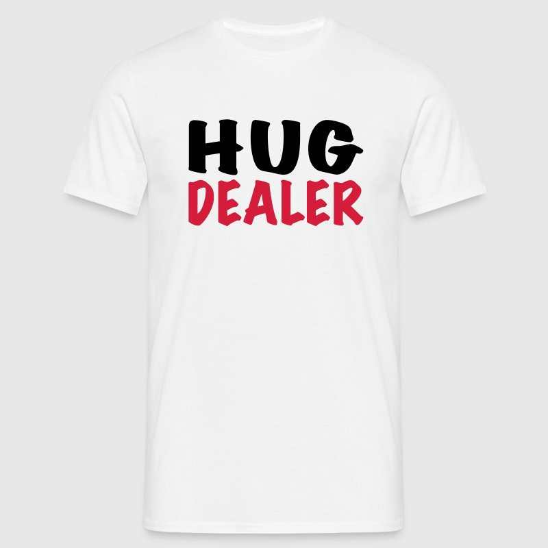 Hug Dealer T-shirts - Mannen T-shirt