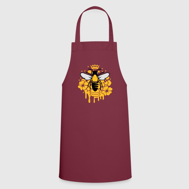 A bee with a crown  Aprons - Cooking Apron