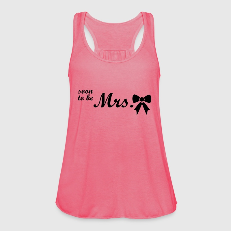 soon to be mrs Tops - Women's Tank Top by Bella