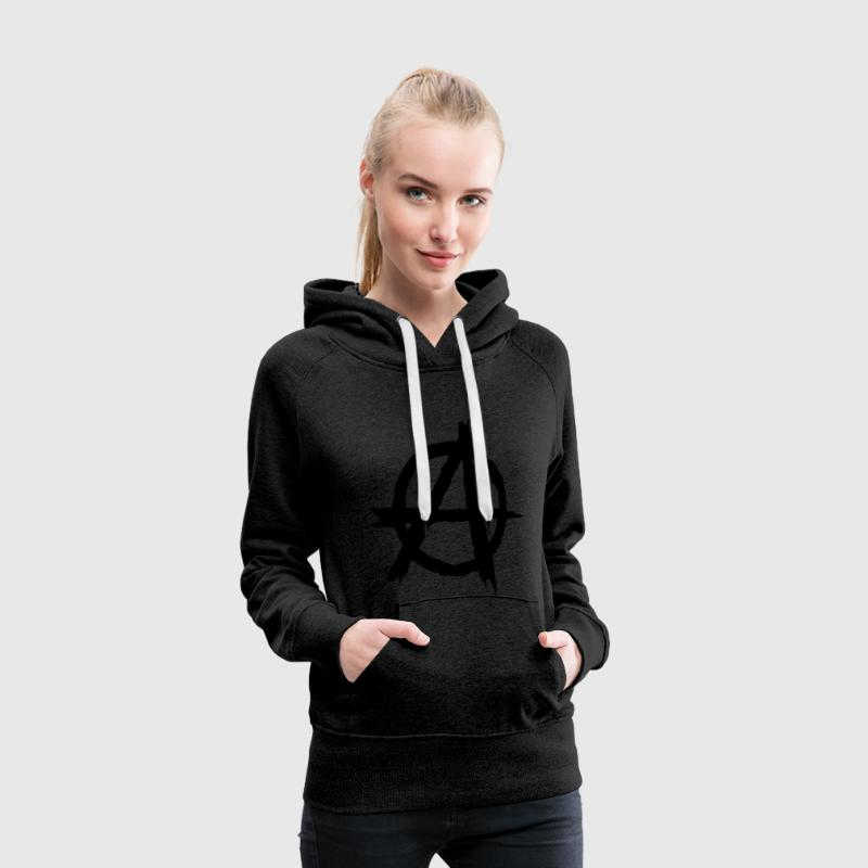 Anarchy - Anarchie Sweat-shirts - Sweat-shirt à capuche Premium pour femmes