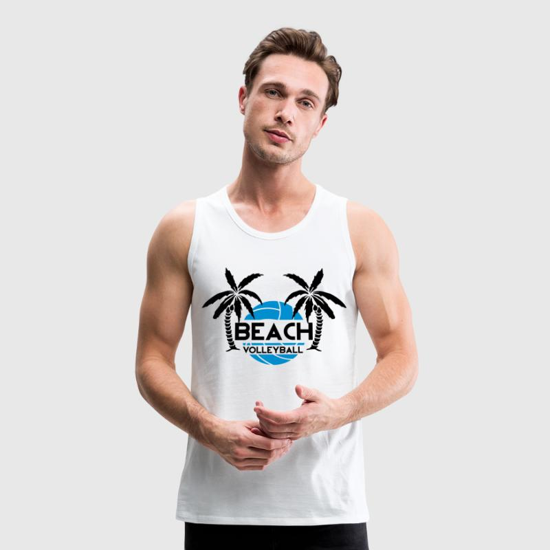 Beach Volleyball Tank Tops - Men's Premium Tank Top