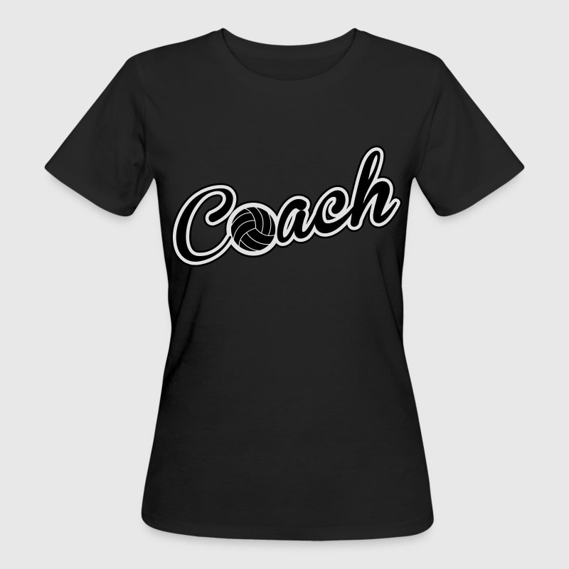 Volleyball Coach Camisetas - Camiseta ecológica mujer