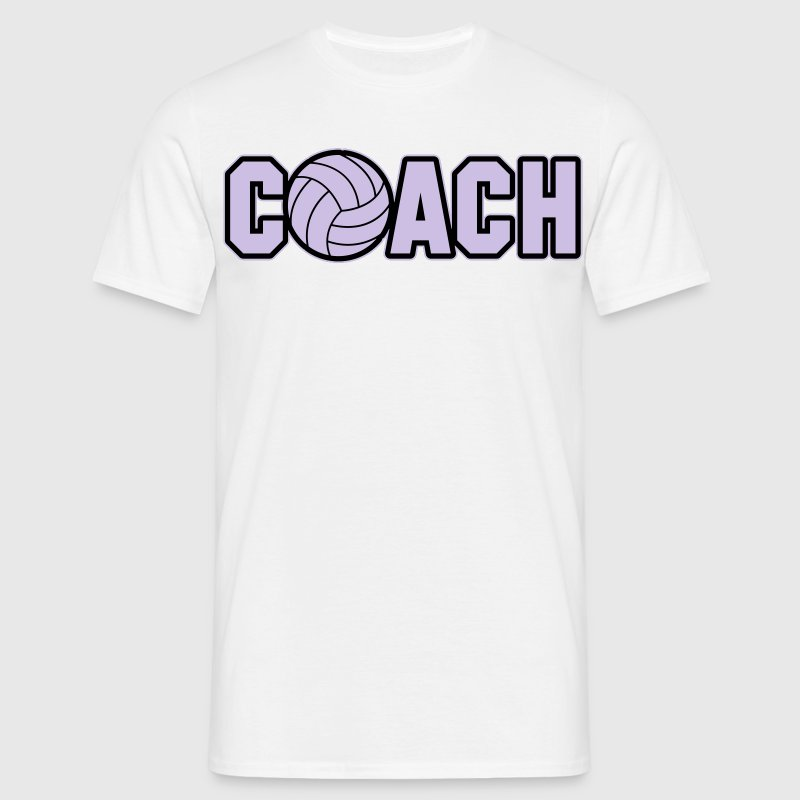 Volleyball Coach Tee shirts - T-shirt Homme