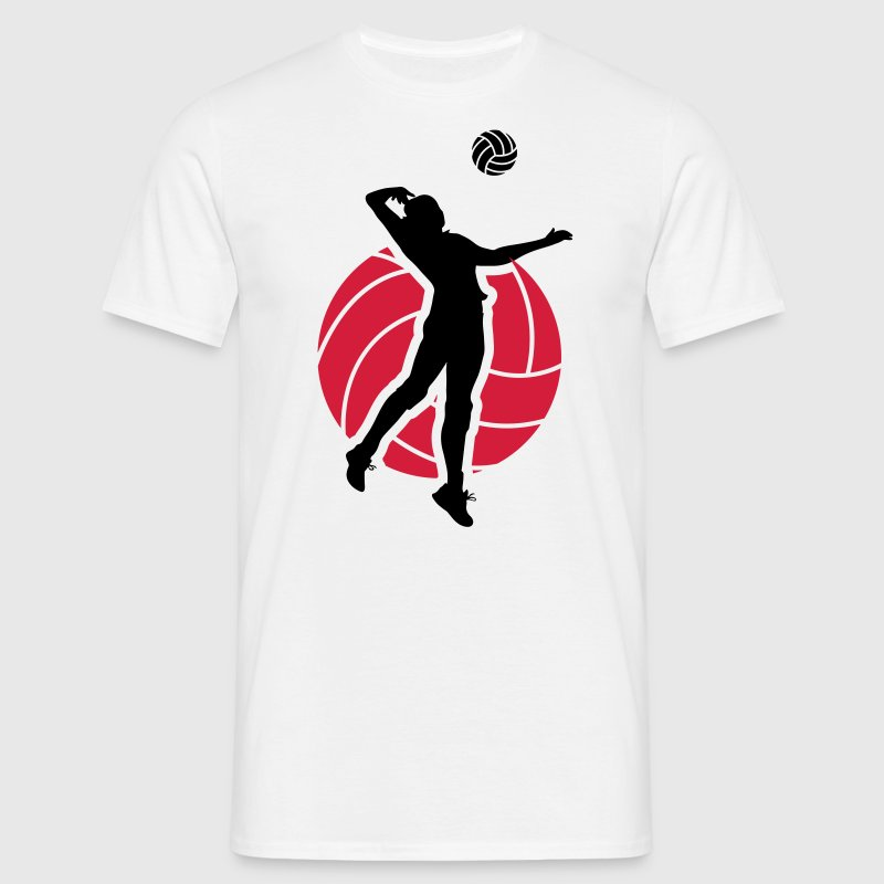 Volleyball Design T-Shirts - Men's T-Shirt