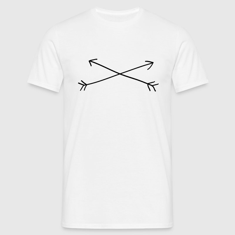 Arrow Cross T-Shirts - Men's T-Shirt