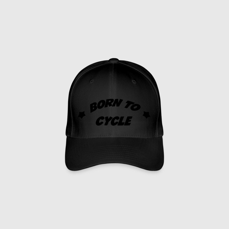 Born to cycle ! Casquettes et bonnets - Casquette Flexfit