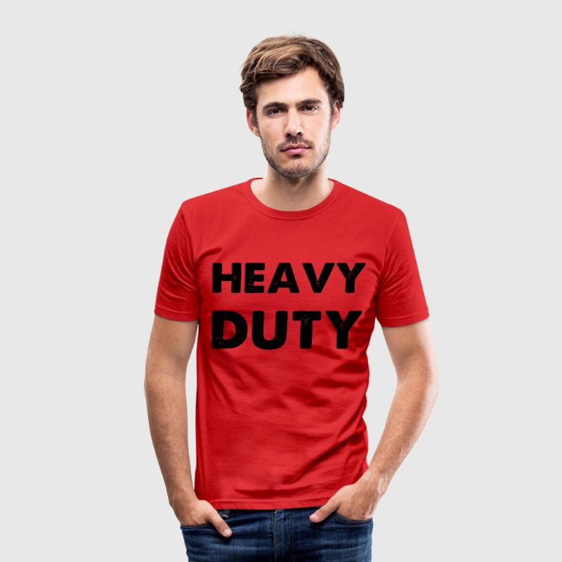 Heavy Duty T-Shirts - Men's Slim Fit T-Shirt