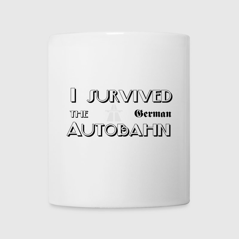 I survived the German Autobahn Bottles & Mugs - Mug