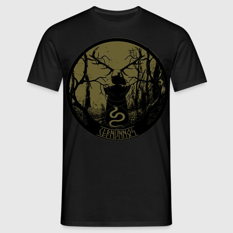 Cernunnos-celtic lord of the woods - Men's T-Shirt