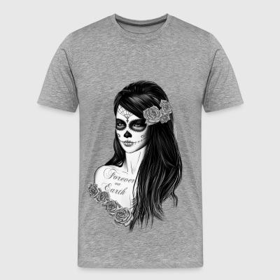 shop skull t shirts online spreadshirt. Black Bedroom Furniture Sets. Home Design Ideas
