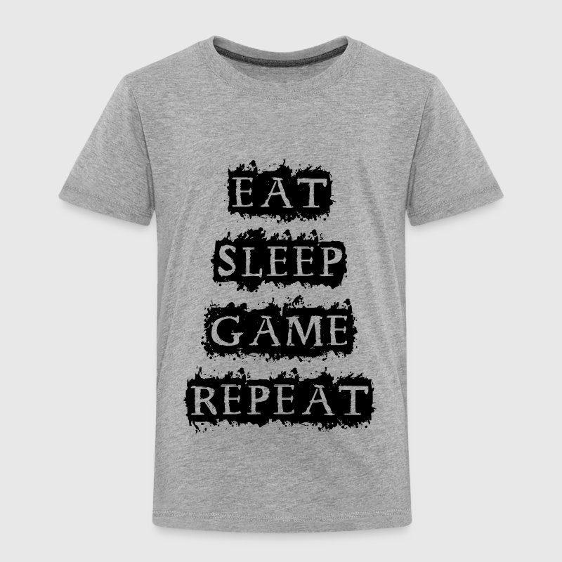EAT SLEEP GAME REPEAT Shirts - Kids' Premium T-Shirt