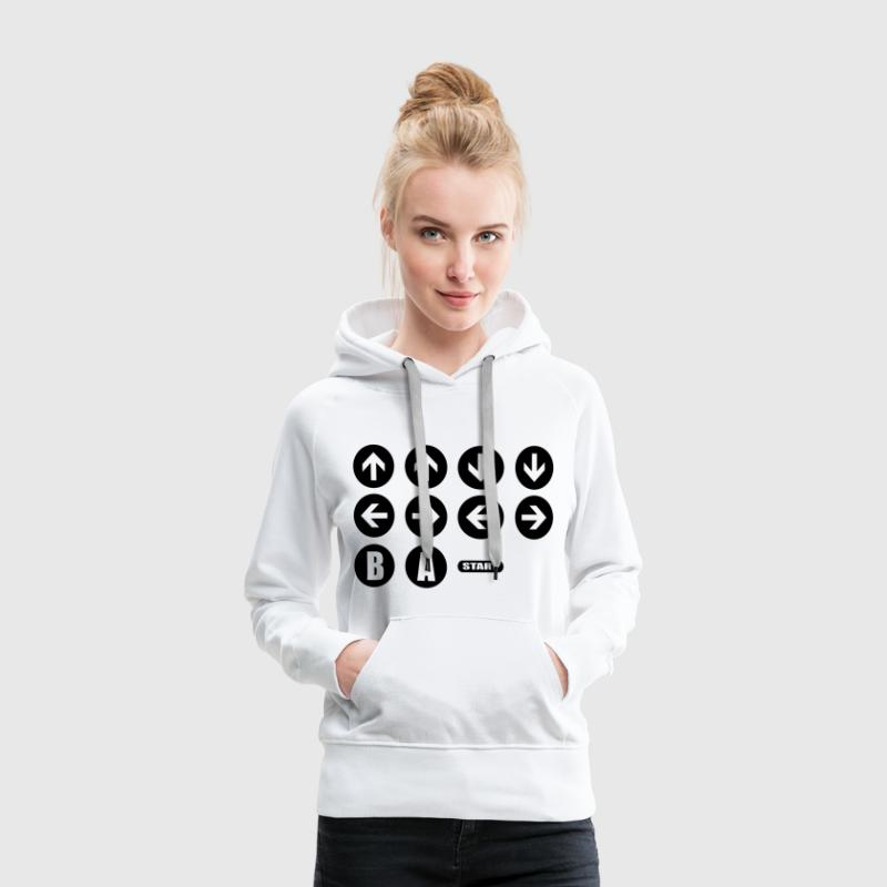 Game Cheat Code  Pullover & Hoodies - Frauen Premium Hoodie