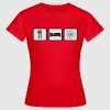 Eat Sleep Science T-Shirts - Women's T-Shirt