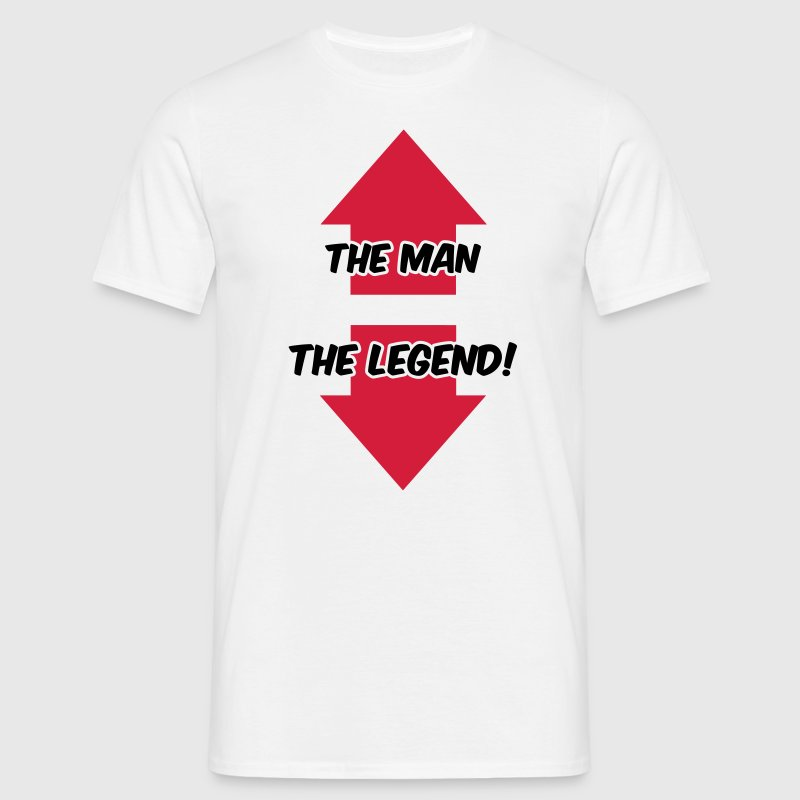The Man, The Legend T-shirts - T-shirt herr