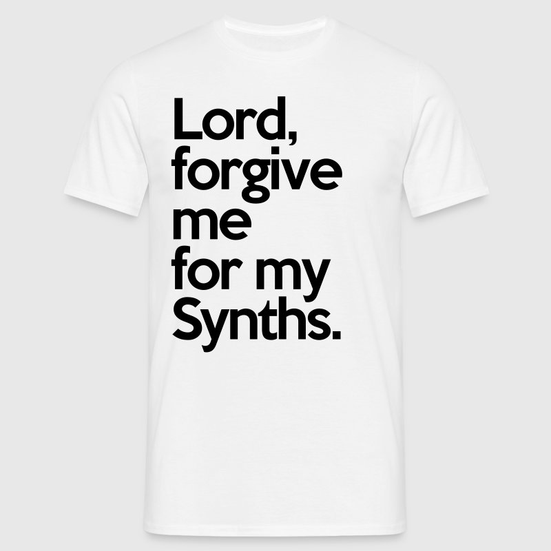 Lord Forgive Me Synths  T-shirts - Herre-T-shirt