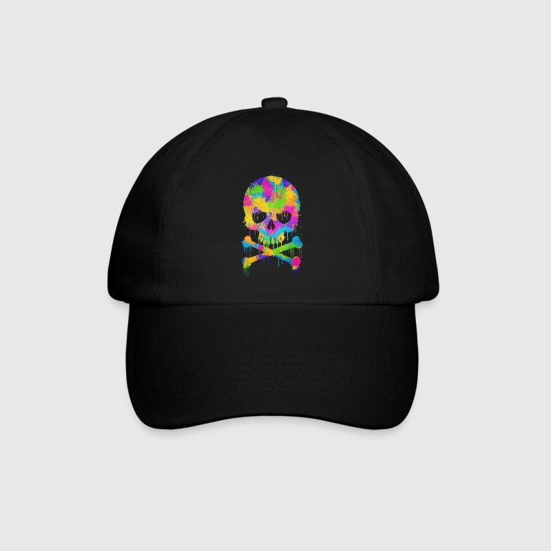 Trendy & Cool Abstract Graffiti Skull  Caps & Hats - Baseball Cap