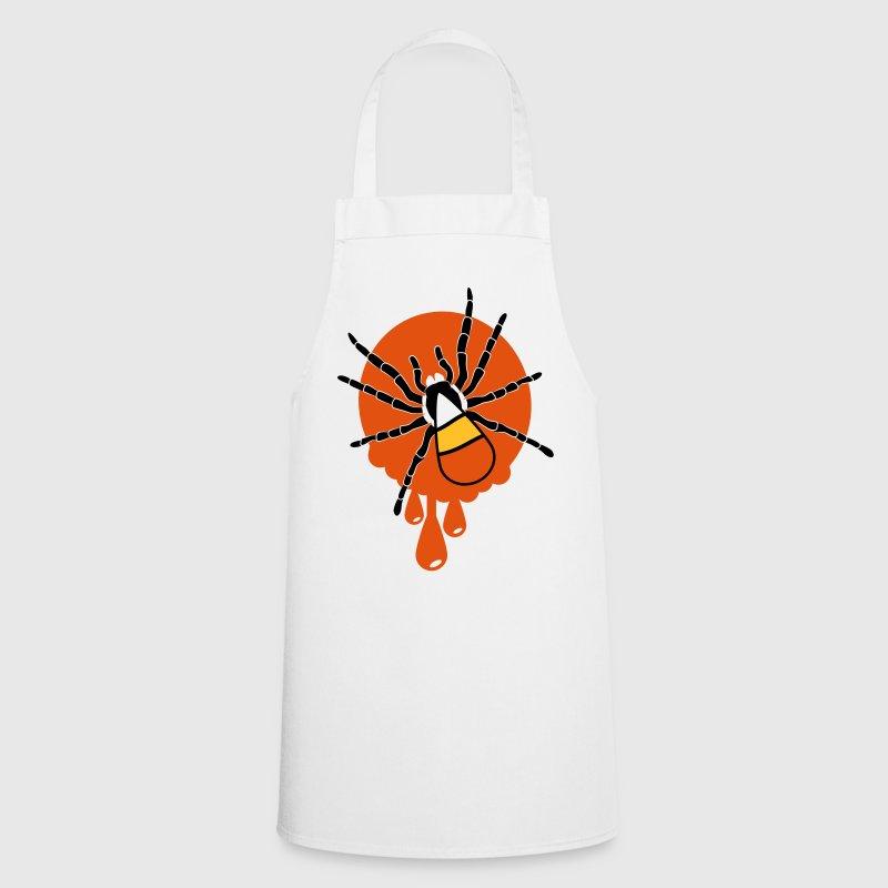 Candy corn spider  Aprons - Cooking Apron