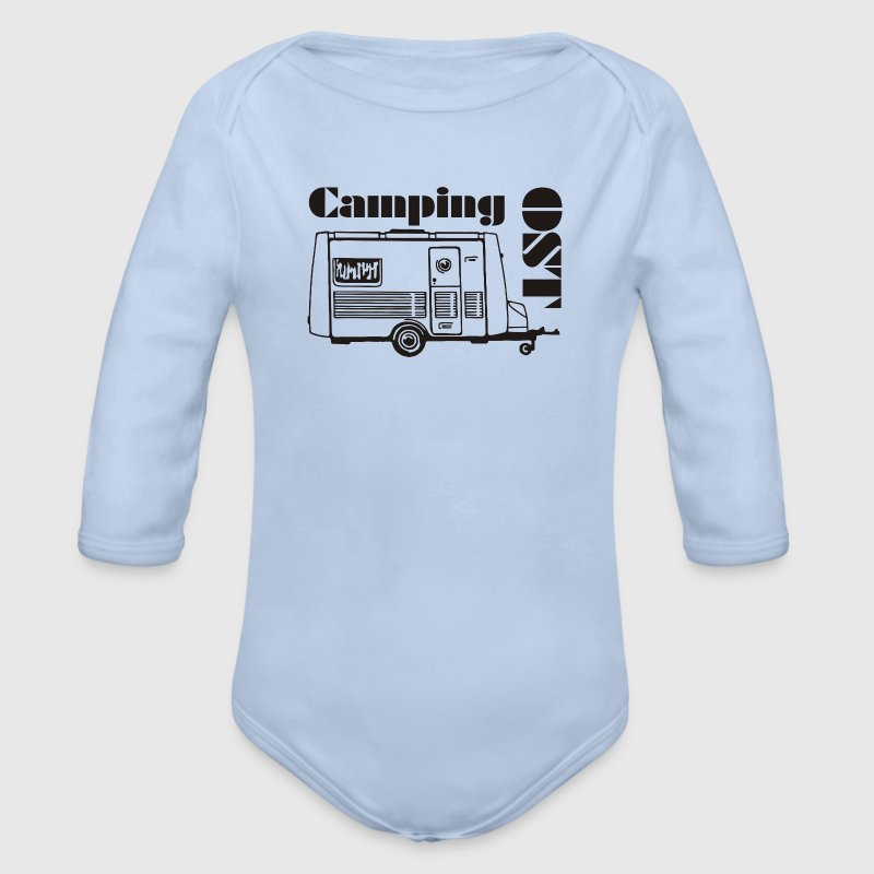 DDR Wohnwagen Intercamp - Baby Bio-Langarm-Body