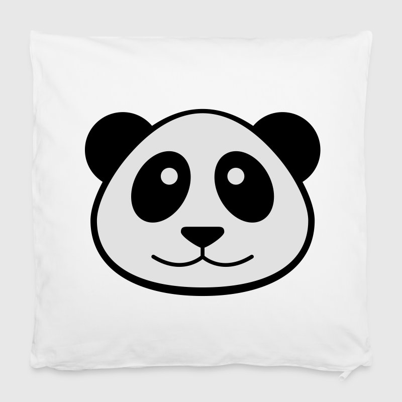 Panda Face Pillow Case - Pillowcase 40 x 40 cm