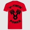 v-twin power vector design T-Shirts - Men's T-Shirt