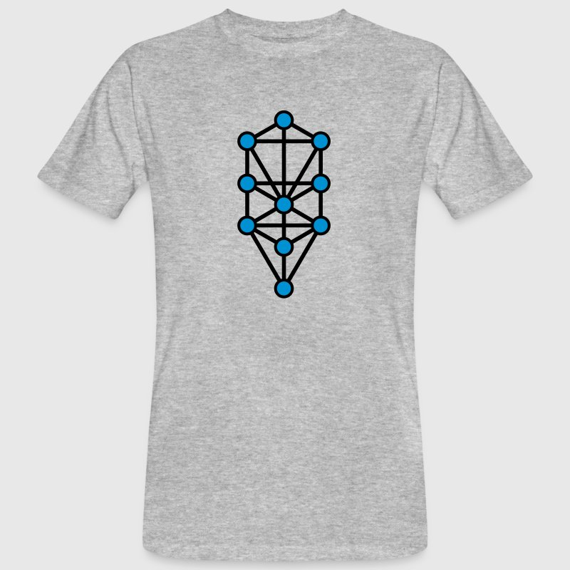 Tree of Life, Sephiroth, Creation Levels, Kabbalah T-Shirts - Men's Organic T-shirt