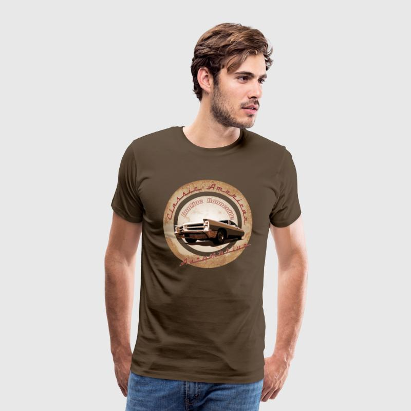 Men's Premium T-Shirt Pontiac Bonneville | Cla - Men's Premium T-Shirt