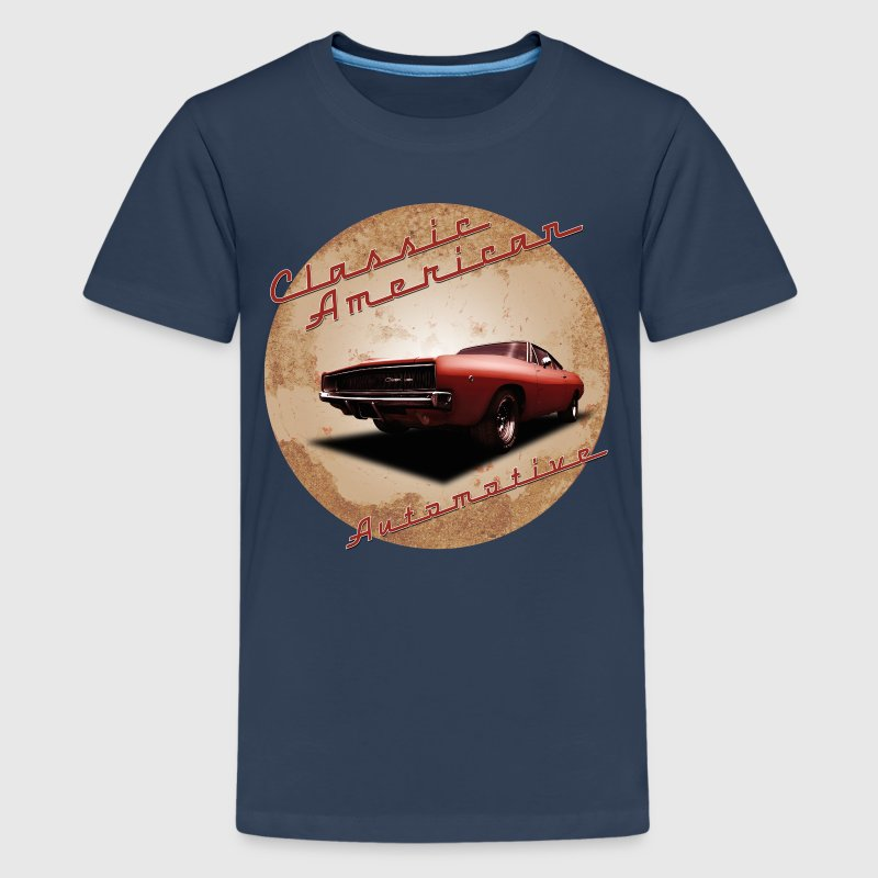 Teenage Premium T-Shirt Dodge Charger | Classic  - Teenage Premium T-Shirt
