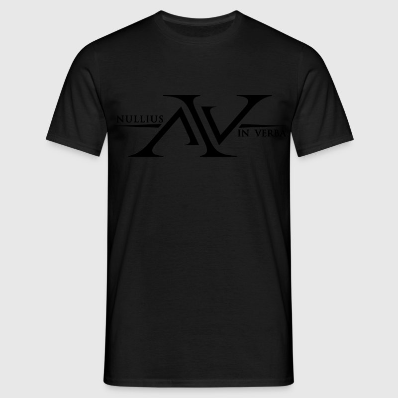 Nullius In Verba Logo - Men's T-Shirt