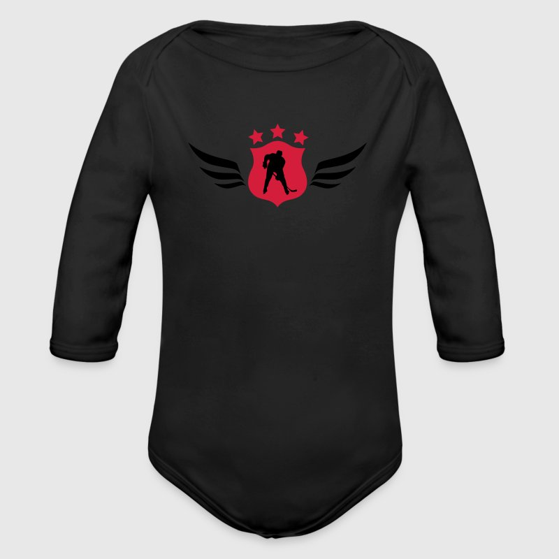 Hockey / Eishockey Pullover & Hoodies - Baby Bio-Langarm-Body