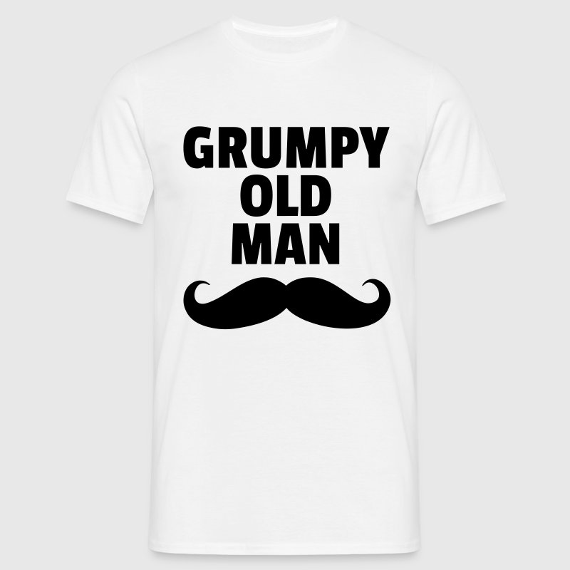 Grumpy Old Man T-shirts - Mannen T-shirt