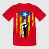 catalunya power Camisetas - Camiseta adolescente