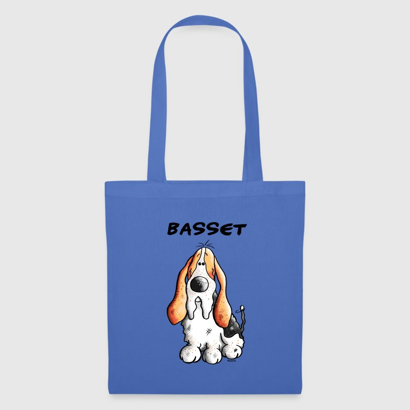 Cute Basset Hound - Dog Bags & Backpacks - Tote Bag