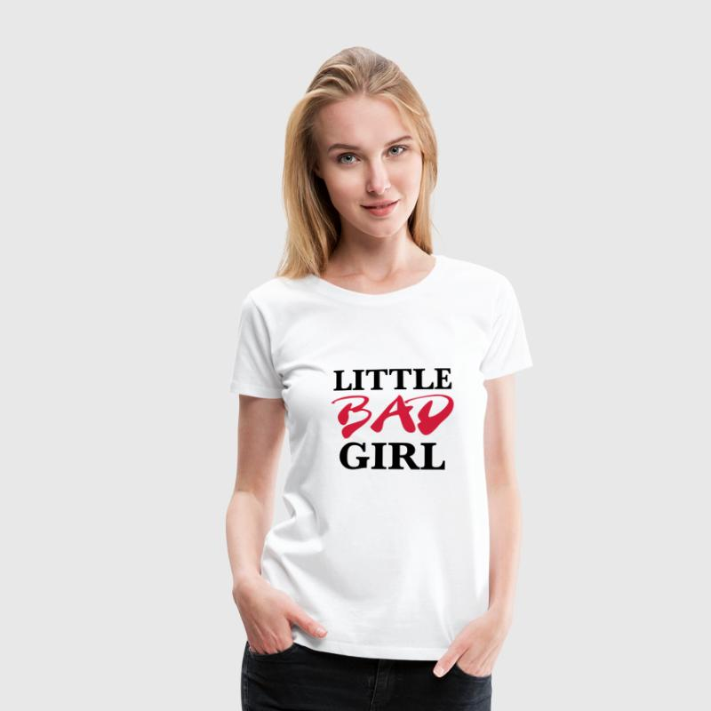 Little bad girl T-Shirts - Frauen Premium T-Shirt