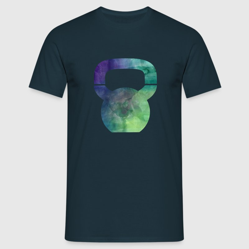 Kettlebell - Watercolor Tee shirts - T-shirt Homme