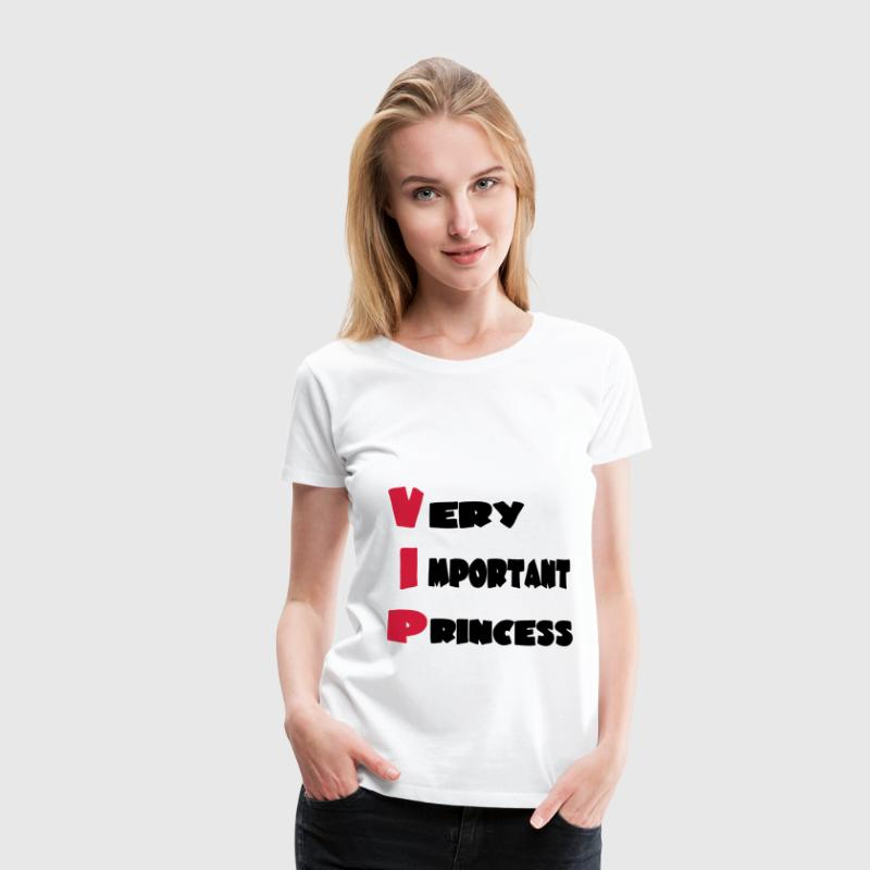 Very important princess 111 T-Shirts - Frauen Premium T-Shirt