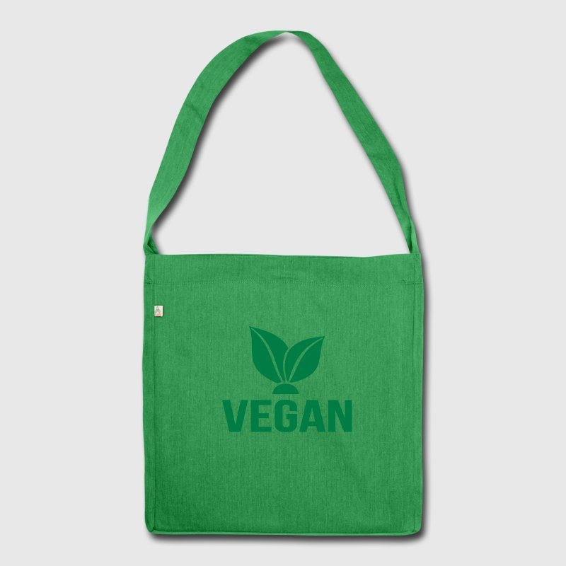 Vegan Bags & Backpacks - Shoulder Bag made from recycled material