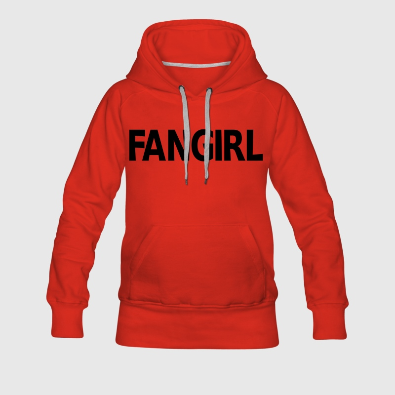 Fangirl Sweat-shirts - Sweat-shirt à capuche Premium pour femmes
