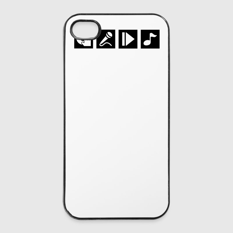 DJ, sing, play, music Phone & Tablet Cases - iPhone 4/4s Hard Case